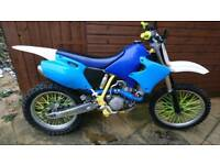 Yamaha WR400 2001