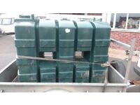 Used 1200 litre pvc slimline oil tank ( may deliver locally) £50