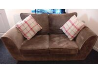 2 seater fabric sofa setee