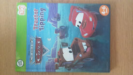 Leapfrog tag Disney pixar world of cars tractor tipping book