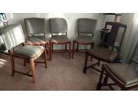 6 dining table chaire
