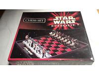 Rare Star Wars Episode One Chess Set