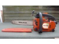 Dolmar german high quality powerful german top handle chainsaw