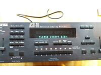 Ensoniq ASR-10 Rare Vintage Rack Synth Synthesizer Sampler ASR 10