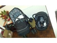 Silver Cross 3d Pram and Car Seat