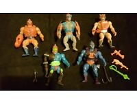 Masters of the Universe - The Original Series Figures (10 of them)