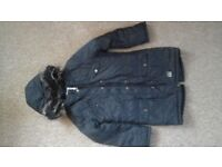 Girls navy coat