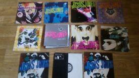 "11 x jesus jones vinyl collection LP's/12""/remixes/ltd edition posters"