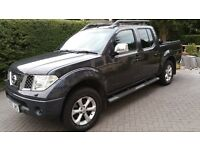 NISSAN NAVARA 2008 DOUBLE CAB PICK UP 2.5 OUTLAW WITH PRIVATE PLATE and NO VAT