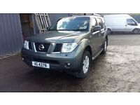 breaking grey nissan pathfineder 2.5 turbo diesel YD25 4x4 parts manual spares