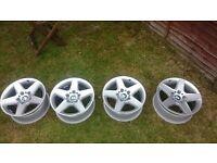 BMW alloy wheels set of four