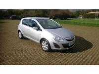 VAUXHALL CORSA 1.2 Exclusiv 5dr [AC] (silver) 2013
