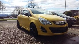 Vauxhall corsa 1.2 limited edition (cheap to run and insure )