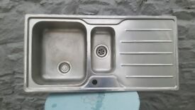 Carron used stainlesd steel sink and left hand drainer