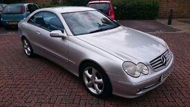 2004 Mercedes-Benz CLK 2.7 CLK270 CDI Avantgarde 2dr, Lovely Car, Long mot, automatic.