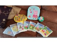 Peppa pig dvd bundle with extras