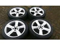 GENUINE AUDI 19 INCH ALLOY WHEELS 5X112 A6 A8 A5 VITO T4 VW PASSAT
