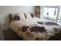 Double bed room with En-suit available to rent in a 2 bedroom flat