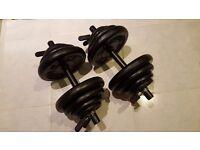 Cast Iron Dumbbels