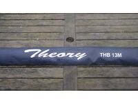 Beachcasting rod- Daiwa Theory 13foot. As new. Never used