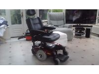 Pronto M61 power chair with seat riser