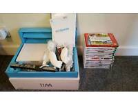 Nintendo Wii Console Boxed, 2 controllers and 14 Games
