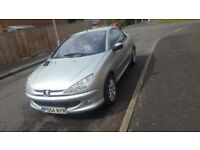 great condition peugeot 206cc gti