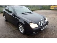 Mercedes-Benz C Class 2.1 C200 CDI SE 2dr, FSH, LONG MOT, HPI CLEAR, P/X WELCOME, DRIVES SMOOTH