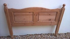 lovely Double Pine headboard