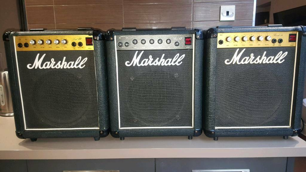Marshall lead 12 - bass 12 - reverb 12 | in Worcester, Worcestershire |  Gumtree