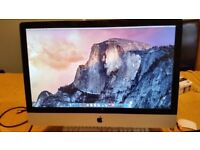 """Apple iMac 27"""" i7 @ 3.1 GHz, 20GB Ram, 500GB SSD (Brand New Just Fitted) 1GB Graphics"""