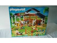 Playmobil stables