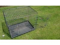 Medium size dog cage very strong