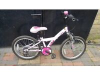 "GIRLS BIKE 20""WHEELS 6YRS+(CHOICE OF 2)"