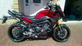 Yamaha MT09 Tracer ABS, 900 Tracer, Shad Panniers & Fitting Kit.