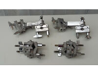Aluminum set of 4 drum mounts