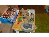 Playmobil castle in box