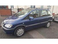 Vauxhall Zafira 2004 Diesel 7 seats