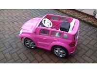 Kids electric Car and battery charger