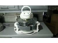 Halogen oven hardly used excellent condition.