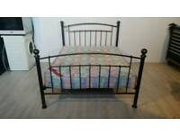 Black and Gold Double Bed