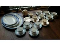 Lot of pretty vintage china