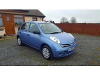 **Nissan Micra 1.2 With only 59000 Miles, One Owner from New**(Yaris,Clio,Corsa, Fiesta)