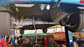 2007 citroen c4 picasso OR GRAND PICASSO BLUE KNYC ***** REAR AXLE BARE ****