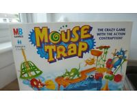 Mousetrap and monopoly board games