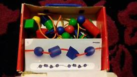 Childs bead toy