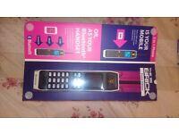 Binatone brick mobile phone unlocked,blutooth,micro sd slot,work as a usb powerbank/speaker