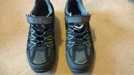 MTB Spd Cross Bike MTB Shoes UK 10 with Shimano cleats
