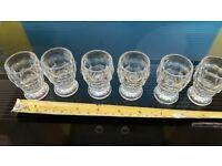 Shot Glasses x6