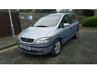 Automatic Vauxhall zafara elegance 7 seater year's mot